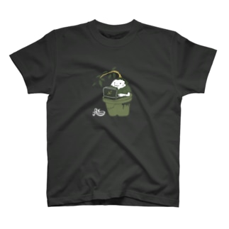 部屋の隅のガジュマル(濃色用) T-shirts