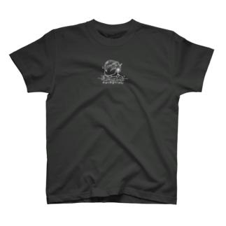 夏祭りワンポイントシャツ濃い色 T-shirts