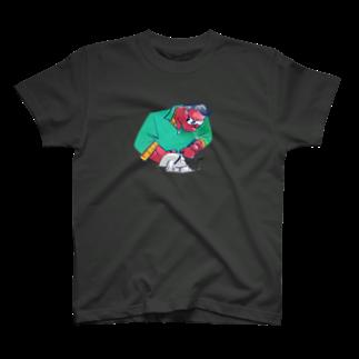 THE GANYUのダディクール 緑 T-shirts