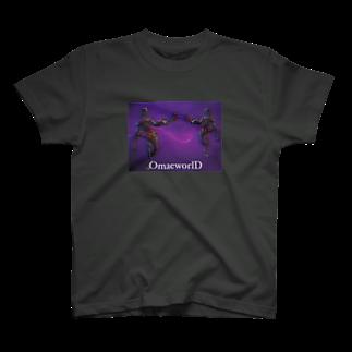 OmaeworlDのクリーチャー T-shirts
