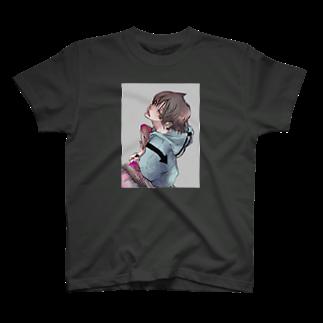 蒼杜吏の猫彼 T-shirts