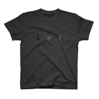 美麗なカタゾウ3種 T-shirts