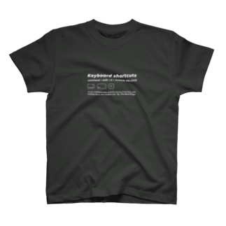 Shortcut key T-Shirts - SUPER RELOAD T-shirts