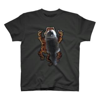 虎の威を借るキャット T-shirts
