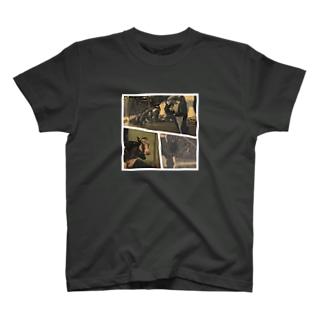劇画牛 T-shirts
