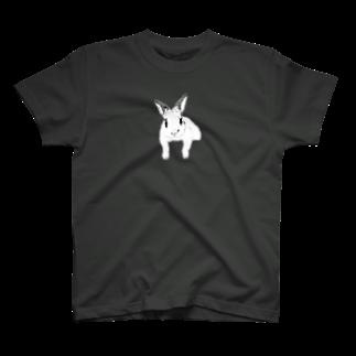 ヒラノマキコの2018.01月うさぎ T-shirts