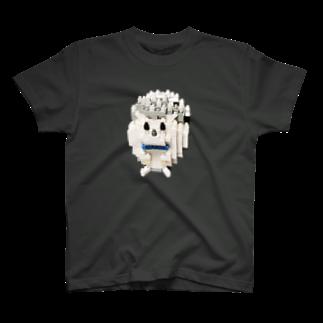 GAMERA3のハリネズミのトゲラくんブロックD T-shirts