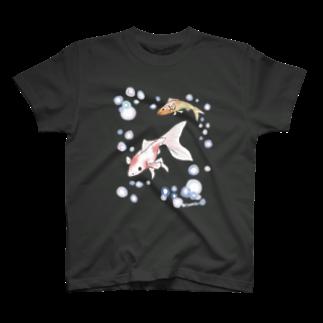 南天玉露の店の金魚さん T-shirts