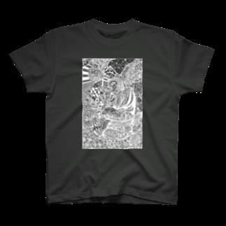 イトスク の鎌倉ワールド(W) T-shirts