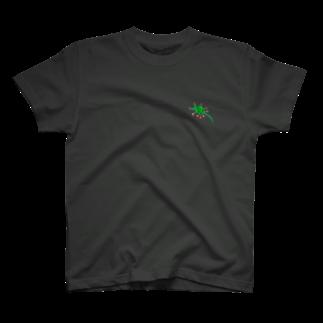 さとやま図案のモウセンゴケ T-shirts
