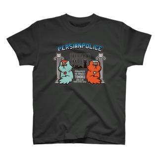 ぺるしゃんぽりす(濃い色用) Tシャツ