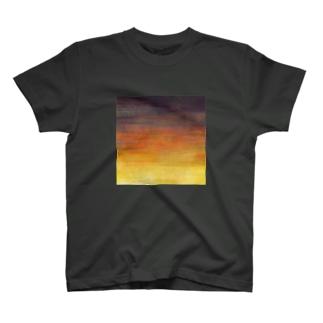 夕焼けグラデ T-shirts