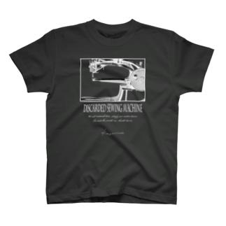 棄てられたミシン ~ 反転BW T-shirts
