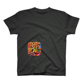 四ツ目カオス T-shirts