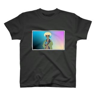 GRL Rainbow T-shirts