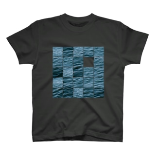 Surface PUZZLE TEE (schottky defect)/Sumi T-shirts