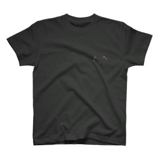 小銃トライアングル T-shirts