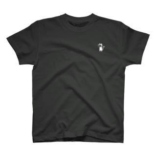 裏方ネコのカメラマンさん(濃シャツ) T-shirts