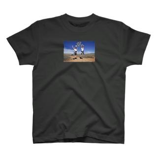 「心開いてご縁広がれ」by 言霊屋いたる T-shirts