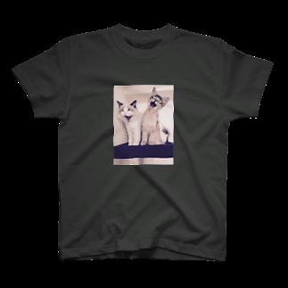 makinboのねこのおおあくび T-shirts