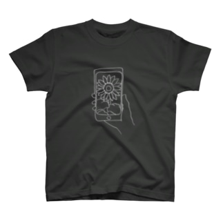 photo-ヒマワリ- T-shirts