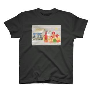 酔っても猩々 T-shirts