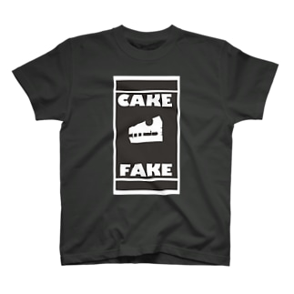 CAKE FAKE BONE T-shirts