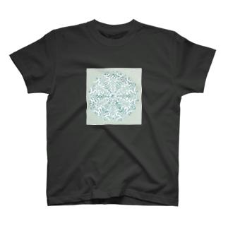 Maru ⭕ Mandala Ice T-shirts