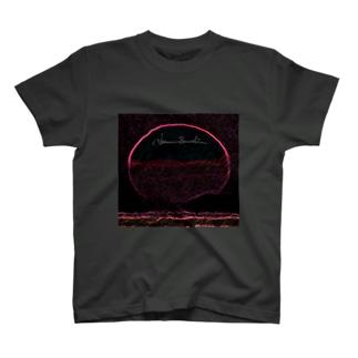 Akieem Zawadi's SHOPのMidnight Sunrise T-shirts