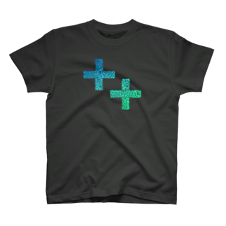 Qiita:Shopの++ Voronoiパターン Tシャツ
