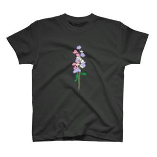 三色のスイートピー T-shirts