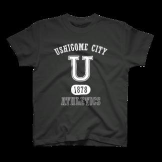 ヤマキイッセイの牛込アスレチクス T-shirts
