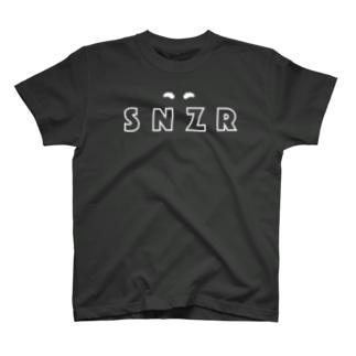 シュナウザー SNZR&まゆげ T-shirts
