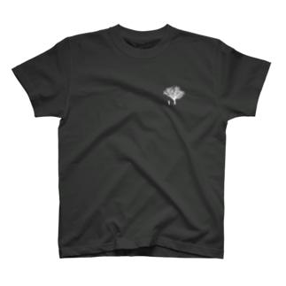 覚悟(濃色用) T-shirts