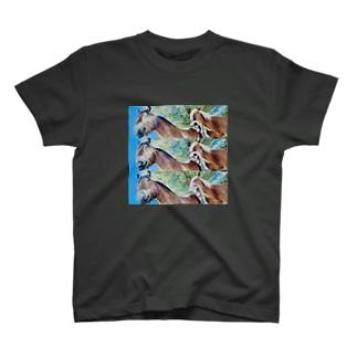 鼻息さんとアクビちゃん T-shirts