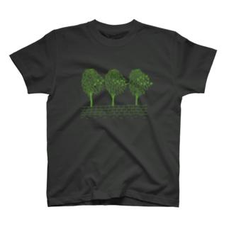 MFGA グリーンインク Tシャツ T-shirts