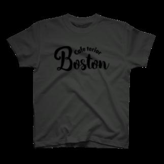 k-lab(ケイラボ)のCafe Terior Boston(B) Tシャツ