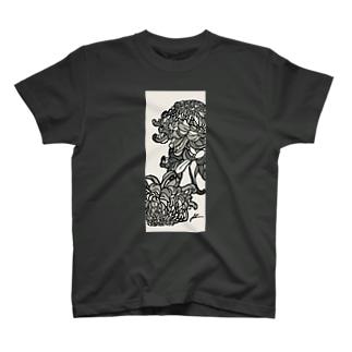 KIKU monotone T-shirts