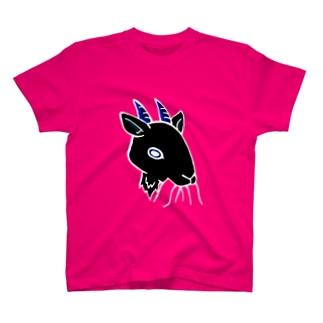 もぐもぐ黒ヤギ Tシャツ