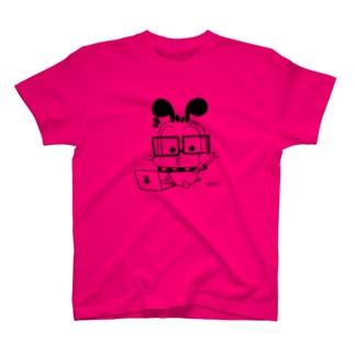 意識の高いゆるボブ ver.2 Tシャツ
