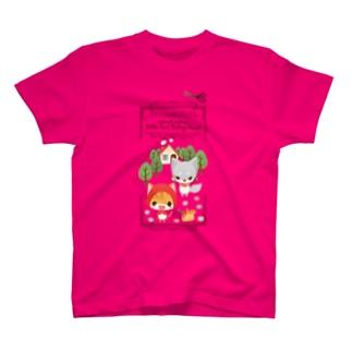 ねこかん赤ずきんちゃん Tシャツ