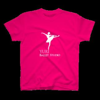 YuriBalletのYuriBallet_whmarkTシャツ