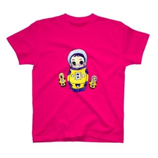 ヤノベケンジ《サン・チャイルド》(マトリョーシカ Tシャツ