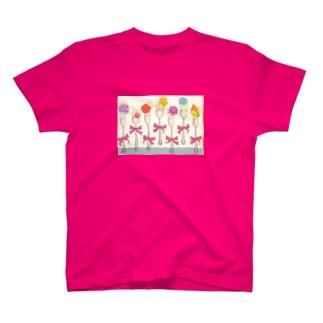 Qpot 風 Tシャツ