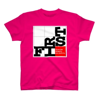 FIRST_P Tシャツ