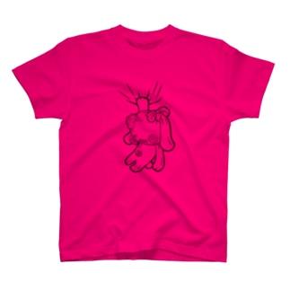 ぐるみん ピンク Tシャツ