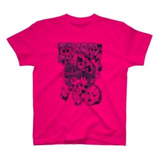ロックンゾンビ ピンク Tシャツ