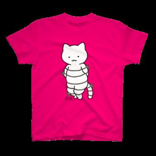 ボンレスニャン(カラー) Tシャツ