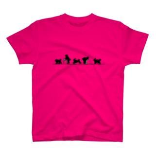 全力プードル Tシャツ
