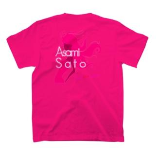 【推しメングッズ】TeamAKASAKA佐藤亜沙美 Tシャツ T-shirts